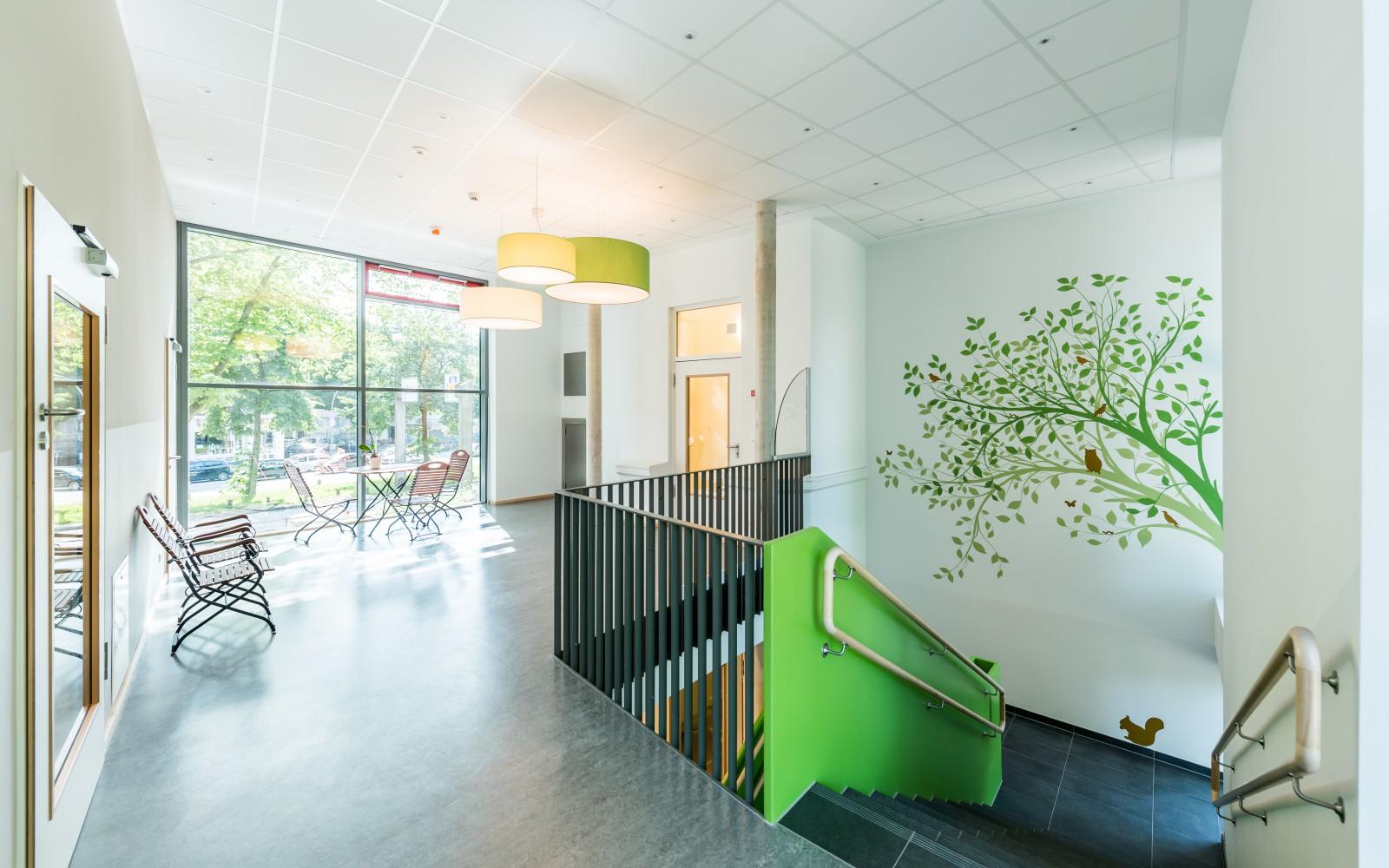 neubau-krippe-kita-ludolfstraße-treppenhaus
